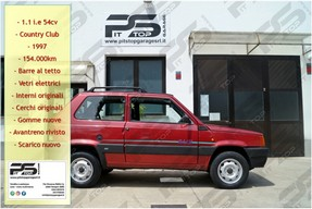 Fiat Panda 1.1 i.e. 4x4 Country Club